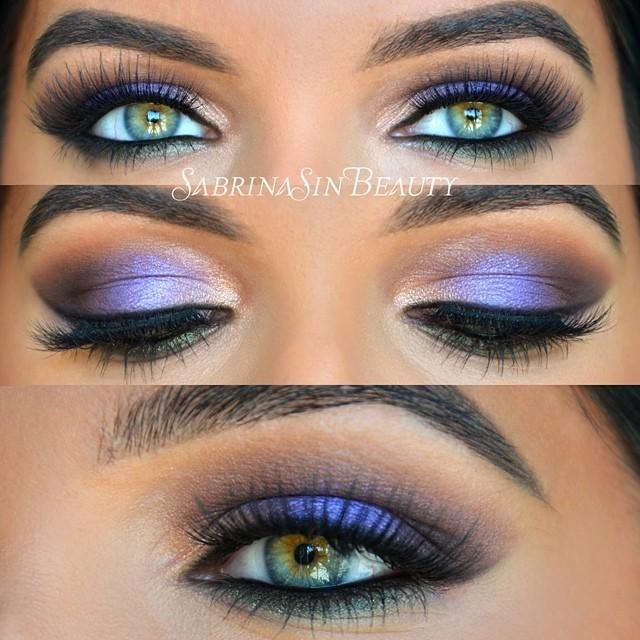 Хитрости макияжа на зеленых глазах