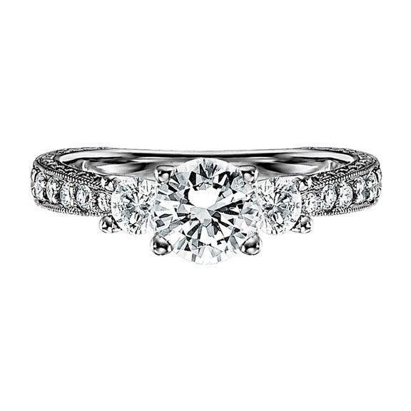 simple but elegant engagement ring my future wedding