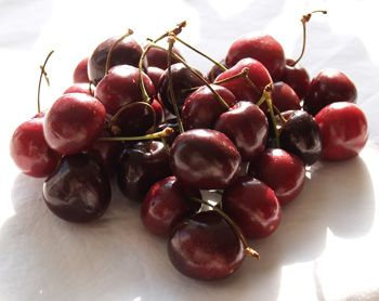 Sour Cherry Syrup: 2 cups pitted sour cherries; 1/4 cup water; 3 ...
