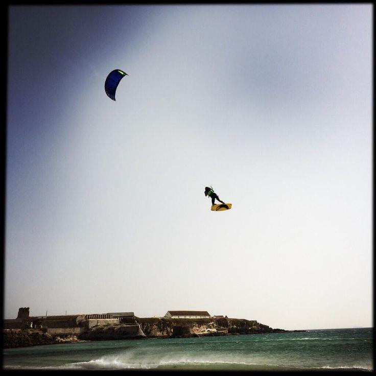 Kitesurf (Tarifa, Cádiz), by @Kleinplanet311
