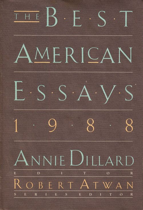 annie dillard essay online