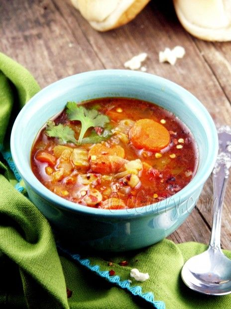 curried navy bean soup | on a cold winter night | Pinterest