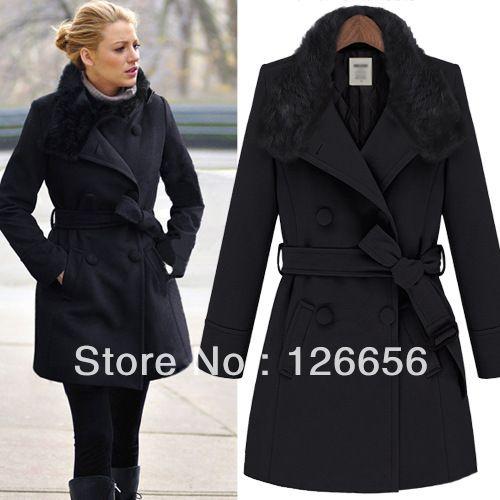 womens fall clothing Worsted coat jacket,Free Shipping D on coraldaisy