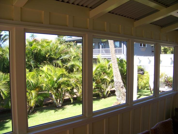Screened Porch Window Detail Pic 1 Elmtree Hall