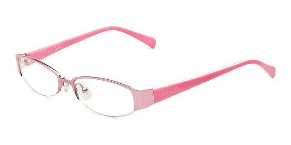 Pink Rimless Glasses : Pinterest