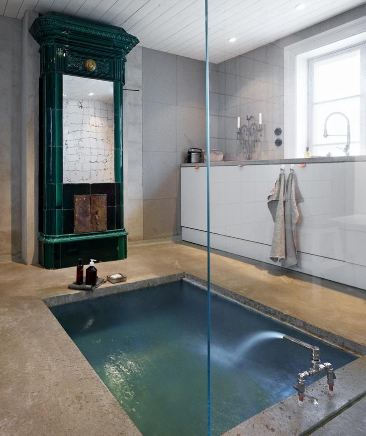 Sunken Tub Bathrooms Pinterest