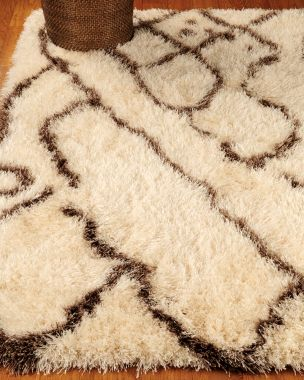 Morrocan shag rug