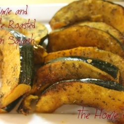 Thyme and Maple Roasted Acorn Squash by TheHomeHeart