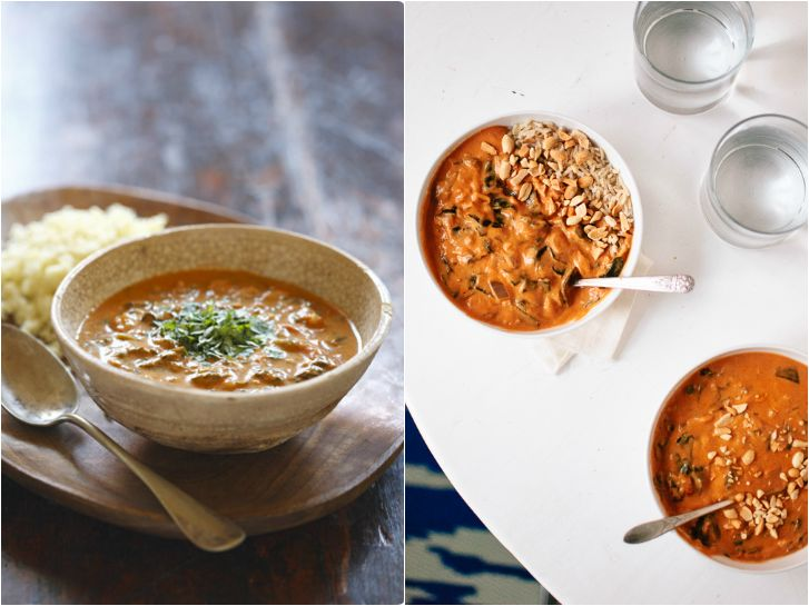 Vegetarian West African Peanut Soup and Senegalese Peanut Butter Stew ...