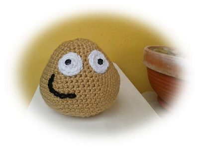 Pou_de_crochet. pattern in Spanish Amigurumi Pinterest