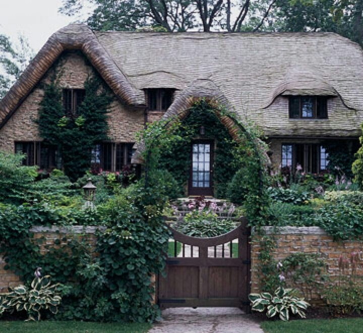 French Cottage Cottages Pinterest