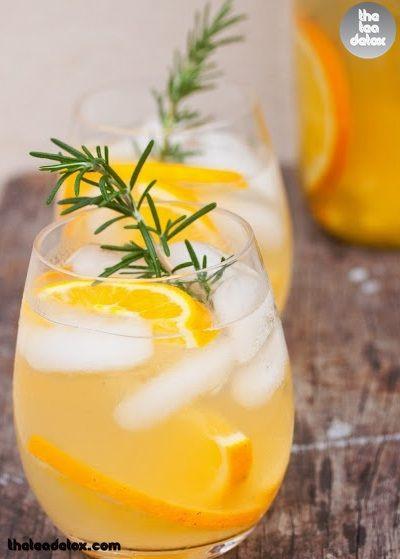 Rosemary-Tangerine Cooler Recipes — Dishmaps