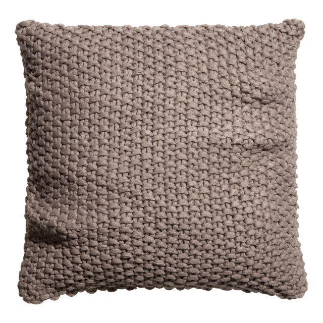 Pillow Knitting Pattern : Knit Pattern Pillow Fiber Crafts Pinterest