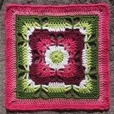 Pin by Lrka on Crochet: Granny Squares Pinterest