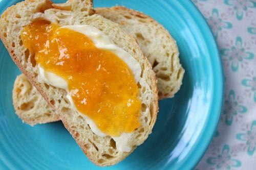peach vanilla bean jam | breakfast | Pinterest