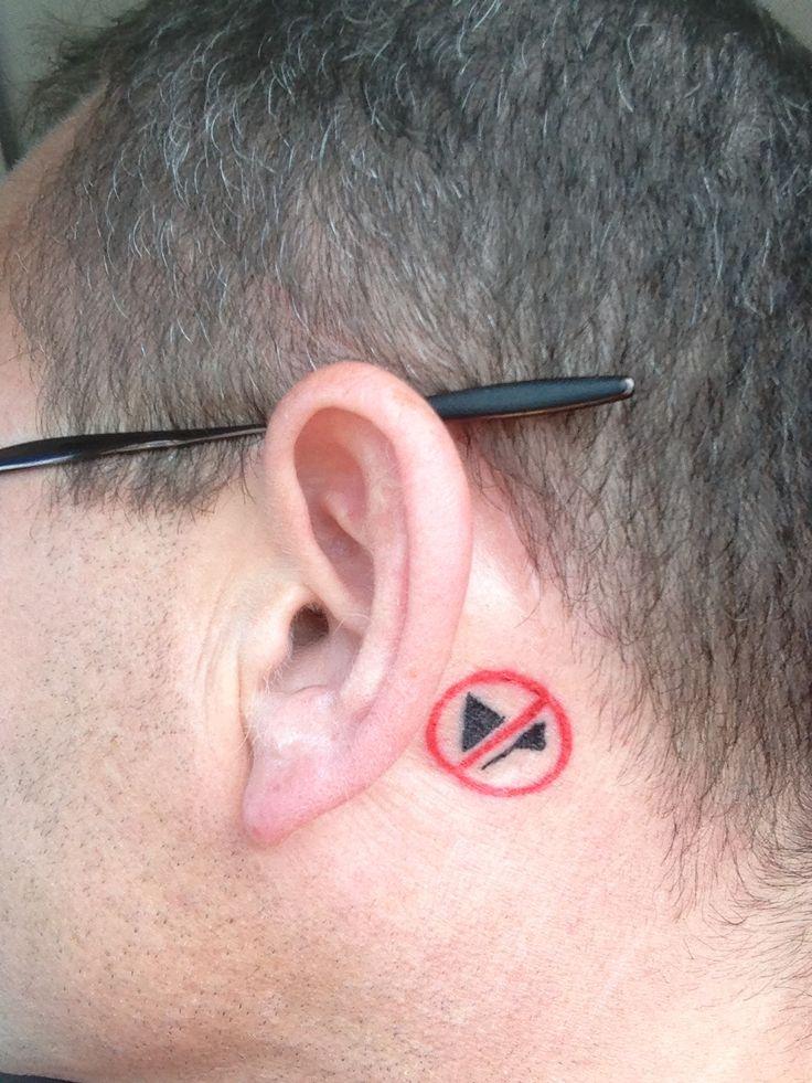 deaf symbol tattoo - photo #2
