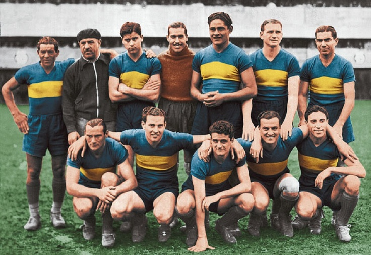 CLUB ATLÉTICO BOCA JUNIORS. 1940. | BOCA JUNIORS | Pinterest