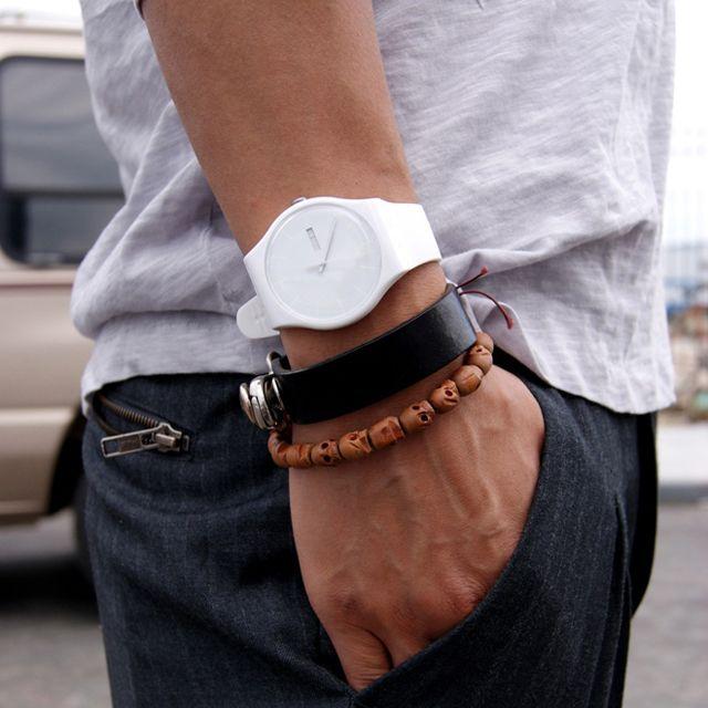White Rebel Swatch Watch