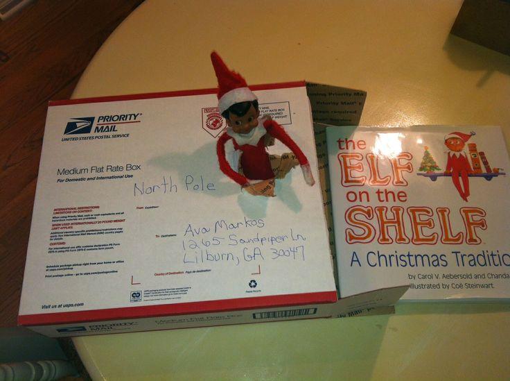 Elf on the Shelf ideas. | Products I Love | Pinterest