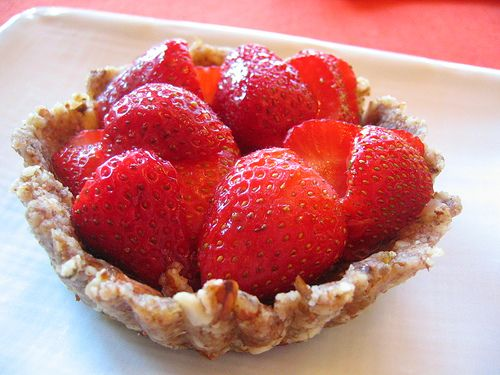 Raw Strawberry Tarts Recipes — Dishmaps