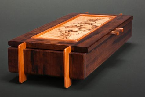 Brilliant Cantilever Jewelry Box  FineWoodworking