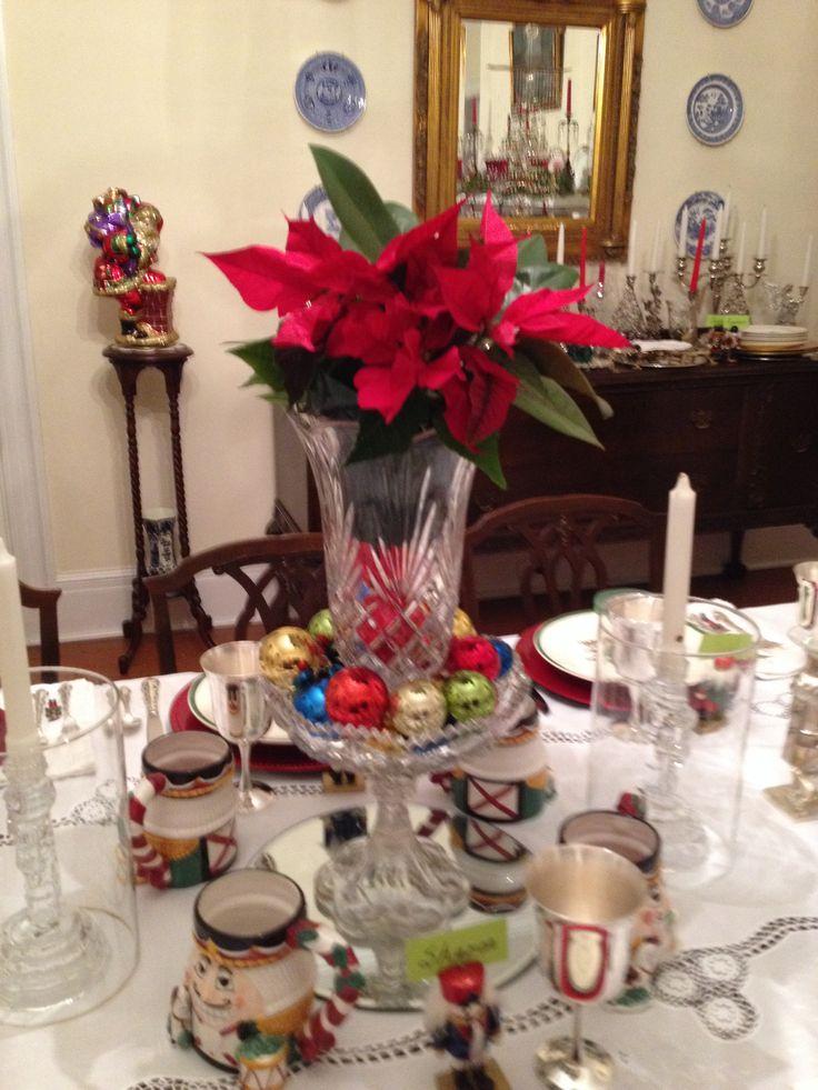 Centerpiece | Christmas Decorating | Pinterest