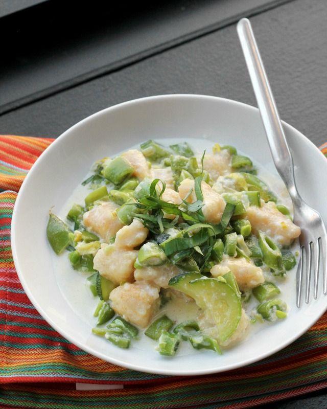 summer vegetable gnocchi - Foolproof homemade potato gnocchi tossed ...