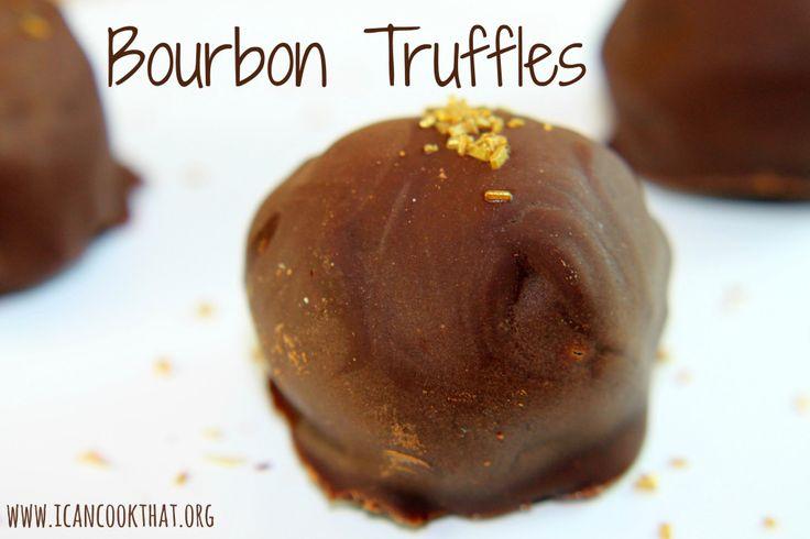 Bourbon Truffles | candy | Pinterest