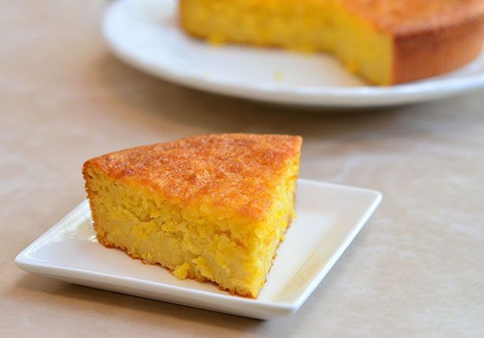 Sweet Corn Cake | Food Things | Pinterest