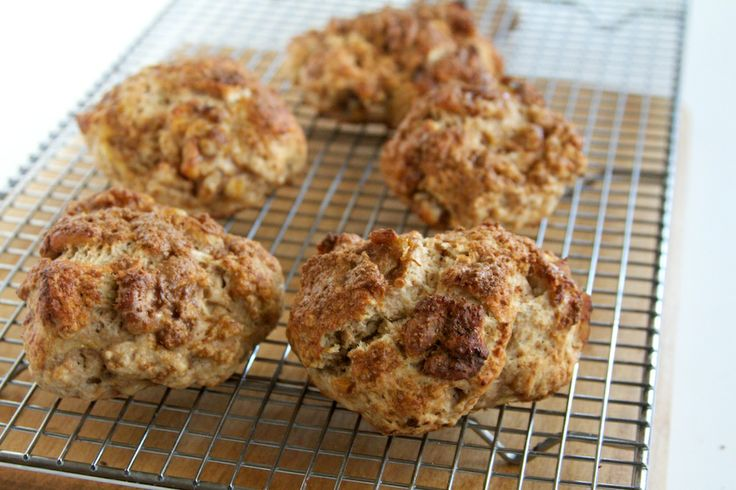 Banana Walnut Scones | Recipe