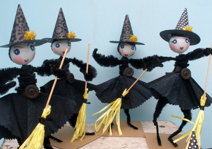 spooky witches | autumn | Pinterest