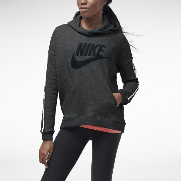 Luxury NIKE SPORTSWEAR NIKE DISTRICT 72 FX HOODIE  Grey  Jimmy Jazz