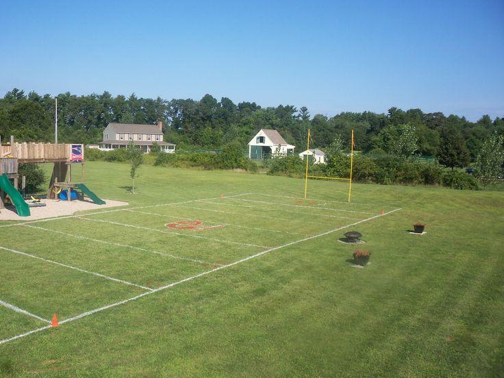 Soccer Field In My Backyard : Yards