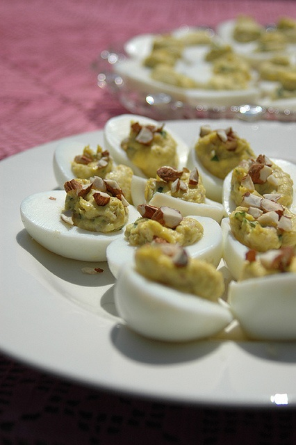Smoked Trout Deviled Eggs - Recipe near bottom.