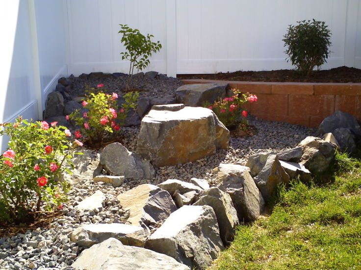 Rock garden ideas outdoors fun pinterest for Rock garden designs images