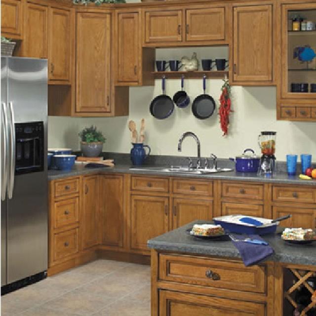 Carmel Oak Cabinets From Grossman 39 S Bargain Outlet