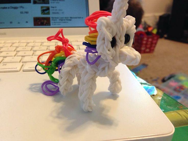 Rainbow Loom Amigurumi Unicorn : Pinterest