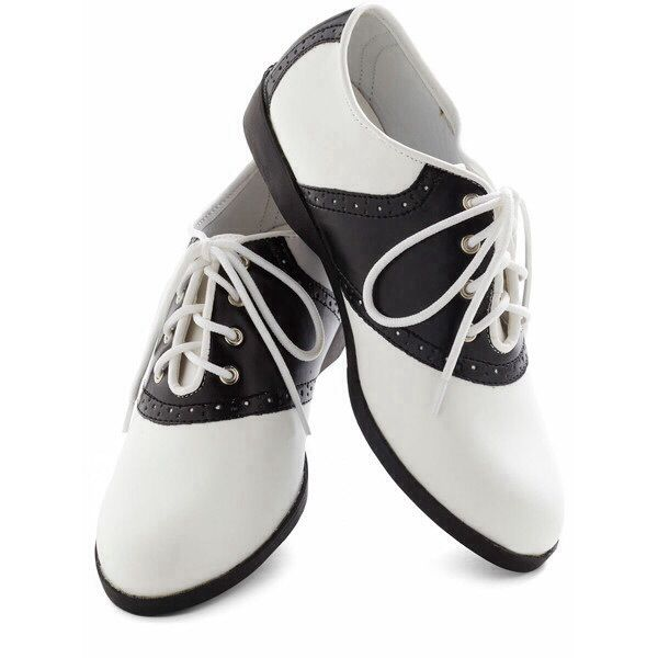 Black and White Oxfords