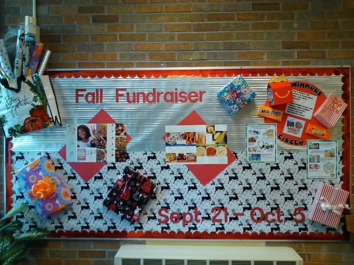 Classroom Raffle Ideas ~ Fundraiser forest glen bulletin boards pinterest