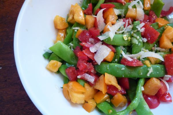 Romano Bean & Tomato Salad & Buttered Potato Salad Recipe
