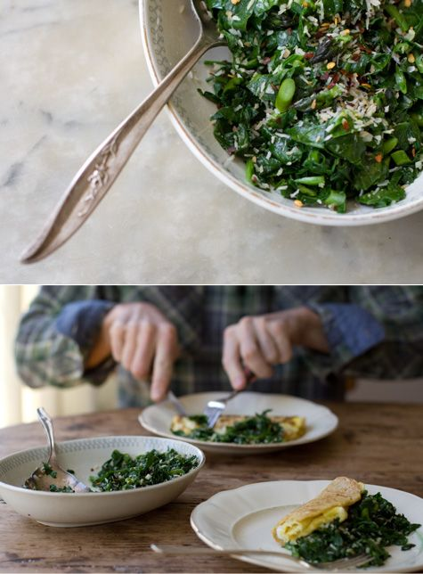 Spiced Coconut Spinach | Recipe