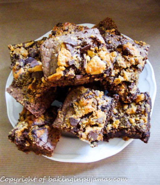 Cinder Toffee Brownies | Nom Nom | Pinterest