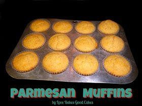 Parmesan Muffins | Cupcake & Muffin Recipes | Pinterest
