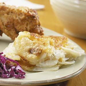 Online Extras - From October 2007 3-Cheese Potato Gratin