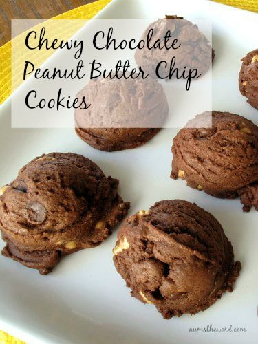Chewy Chocolate Peanut Butter Chip Cookies | Recipe