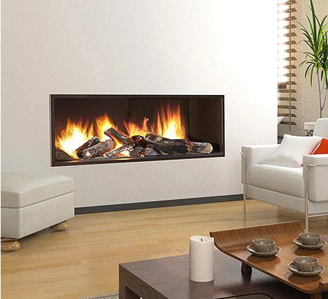 Chimeneas minimal de chimeneas p o for the home pinterest - Chimeneas de madera ...