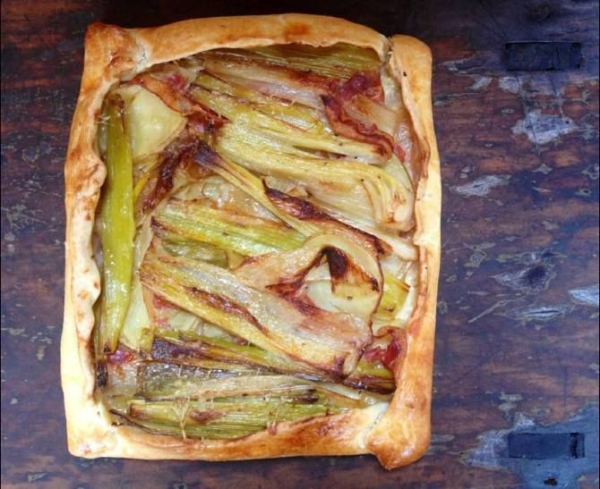 POTATO & LEEK GALETTE // OSTRO | food | Pinterest