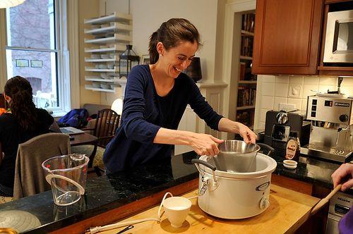 Overnight Steel-Cut Oats with Almond Butter & Honey | Recipe