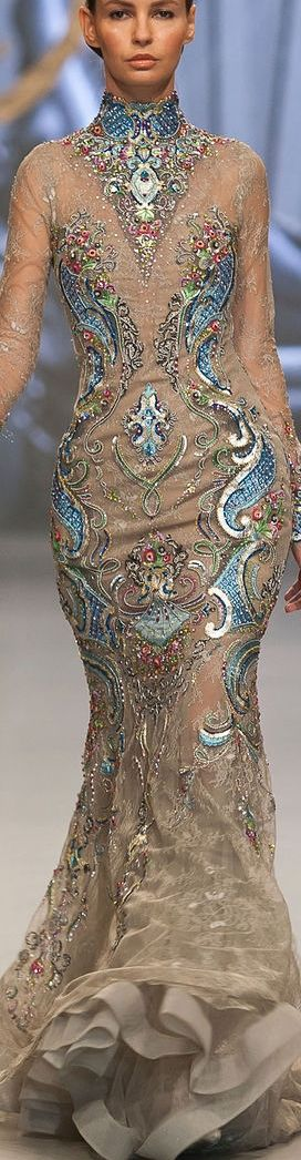 Ezra lace gown