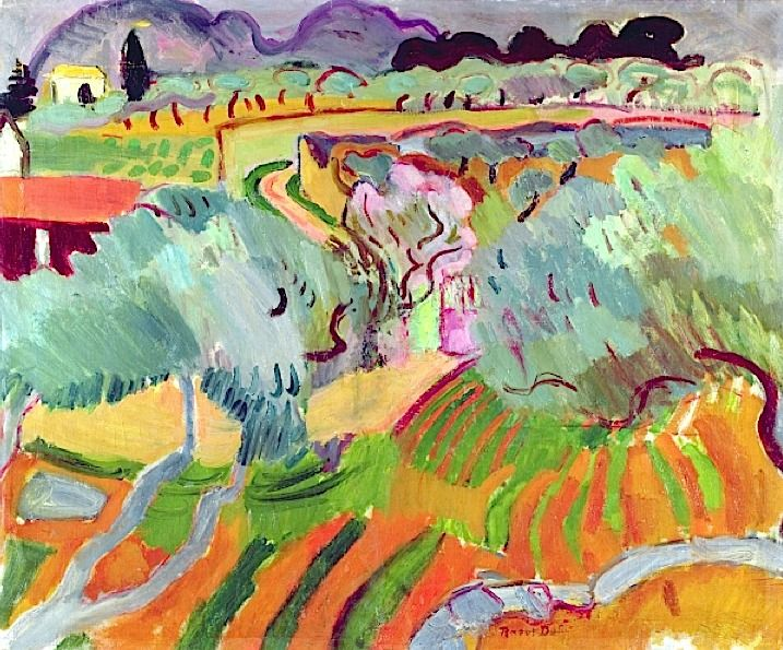 Landscape in Provence, 1905 (oil on canvas), Dufy, Raoul (1877-1953)